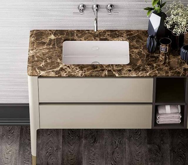 Top lavabo bagno pietra naturale - Arredo bagno in pietra ...
