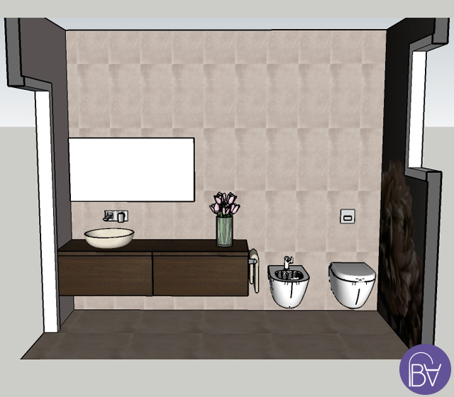 Bagno completo in stile elegante - Arredo bagno completo ...