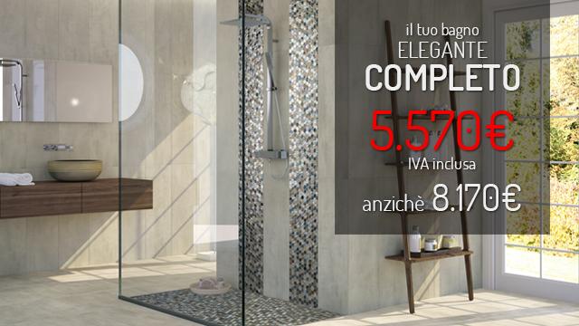 bagno completo in stile elegante - Arredo Completo Bagno