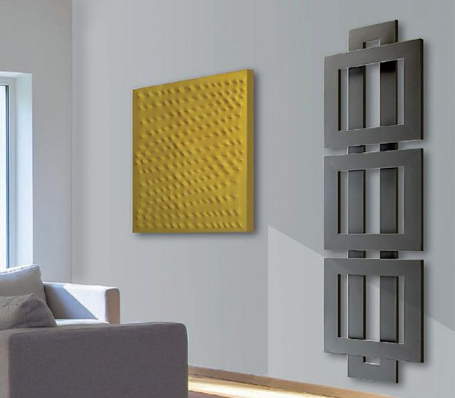 Termoarredo design originale cross q verticale - Termoarredo verticale ...