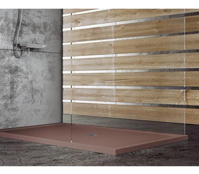 Piatto doccia bordato su misura for Piatto doccia pietra