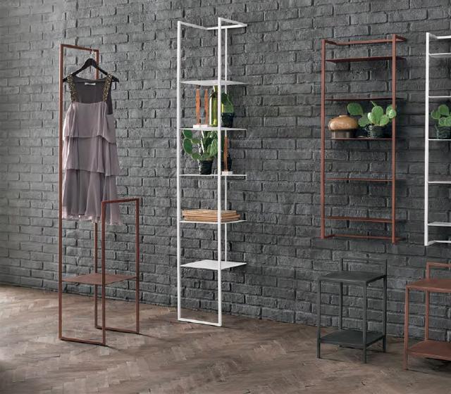 Porta accappatoio e salviette in metallo raster l 35 h 181 - Porta accappatoio da doccia ...