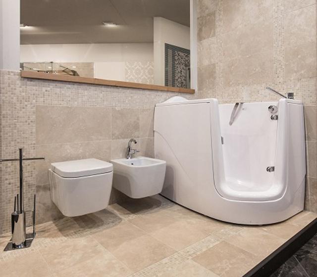 Vasca da bagno con sportello GEN-X