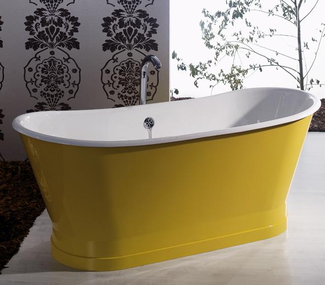 Vasca da bagno centro stanza freestanding antica 170x68 cm for Vasca centro stanza