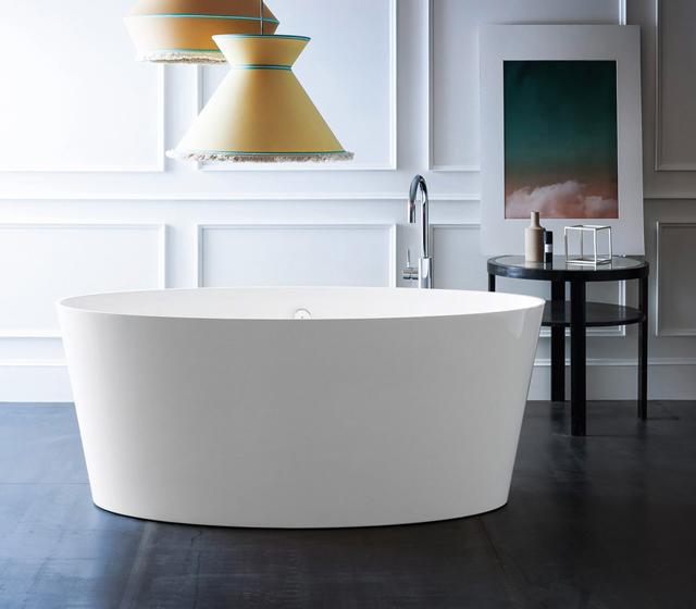 Vasca da bagno compattatub 160x72 cm in mineralguss - Costo vasca da bagno ...