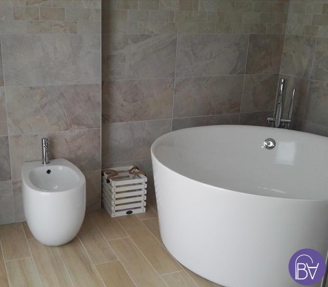 Vasca da bagno freestanding centro stanza catino - Vasca da bagno freestanding ...