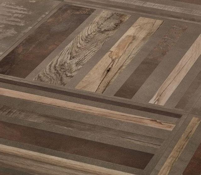 Gres Porcellanato Metallo Interno 9 Mud 60x60 Decoro