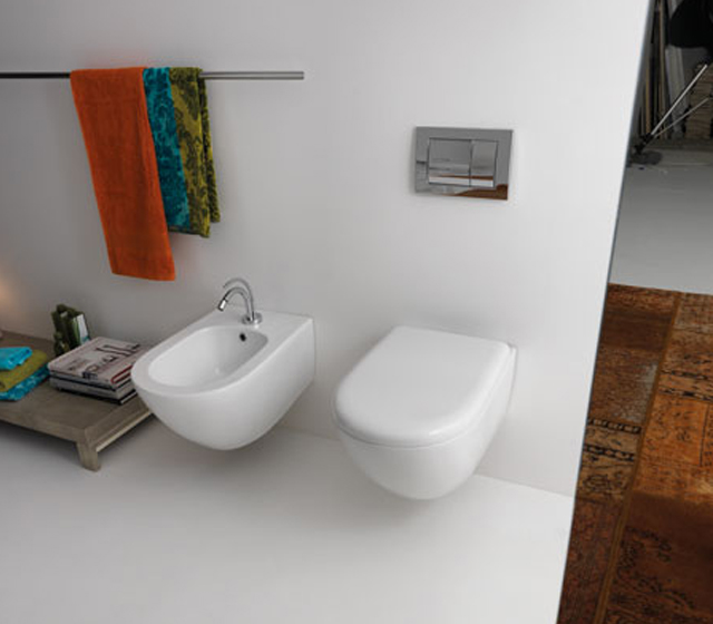Bidet sospeso aquatech for Architec bidet sospeso