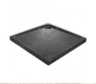 Lavabo particolare da appoggio simmetrie nero - Piatto doccia nero ...