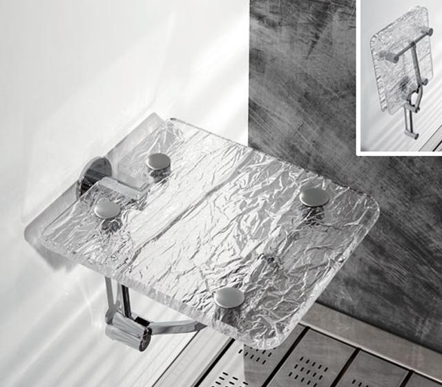 Sgabello pieghevole for Sgabello plexiglass doccia