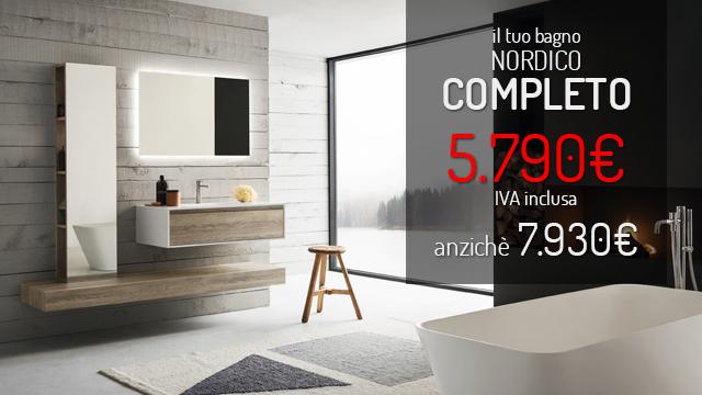 Ordina online il tuo bagno nordico completo e ricevilo a casa tua