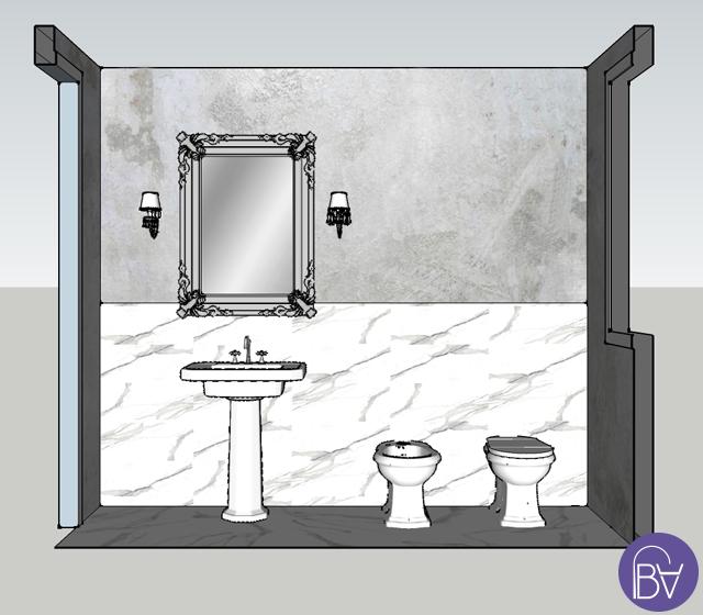 Crea il tuo bagno retr completo con bagni d 39 autore - Completo bagno renato balestra prezzi ...