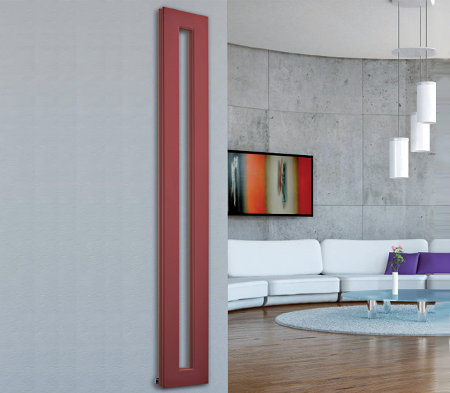 Termoarredo design originale cross v verticale for Architecture minimale