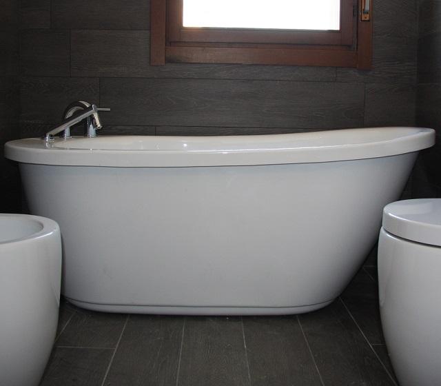 Vasca da bagno centro stanza freestanding Vintage 170x78 cm