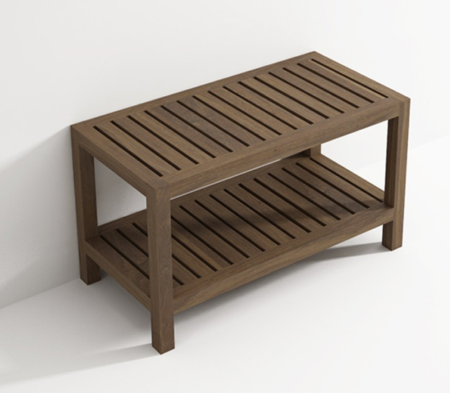 Radiatori Design Prezzi : Panca doccia in legno teak bagni d autore