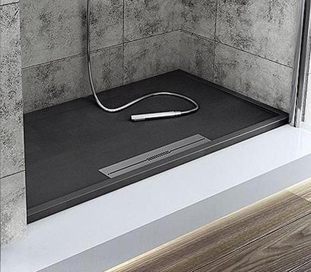 Piatto doccia bordato design su misura for Piatto doccia misure