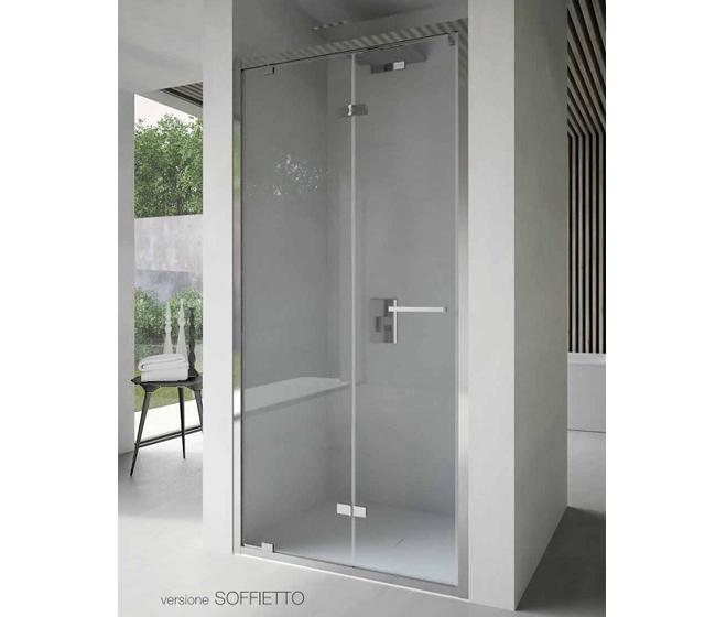 Porta doccia soffietto free 80 cm - Porta a soffietto per doccia ...
