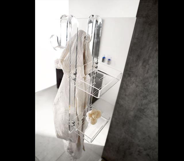 Portaoggetti 2 piani - Accessori doccia portaoggetti ...