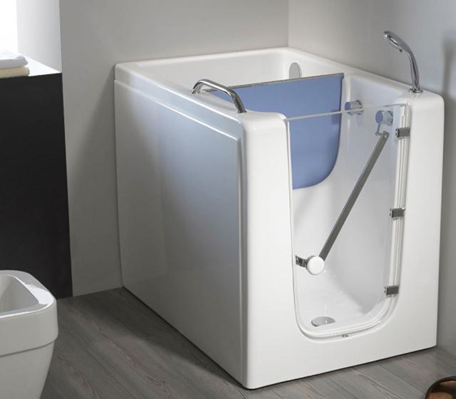 Vasca da bagno con sportello agio - Vasca bagno con sportello ...