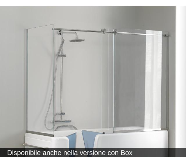 da bagno con sportello COMFORT 170X70