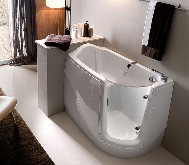 Vasca da bagno con sportello gen x - Vasca bagno con porta ...