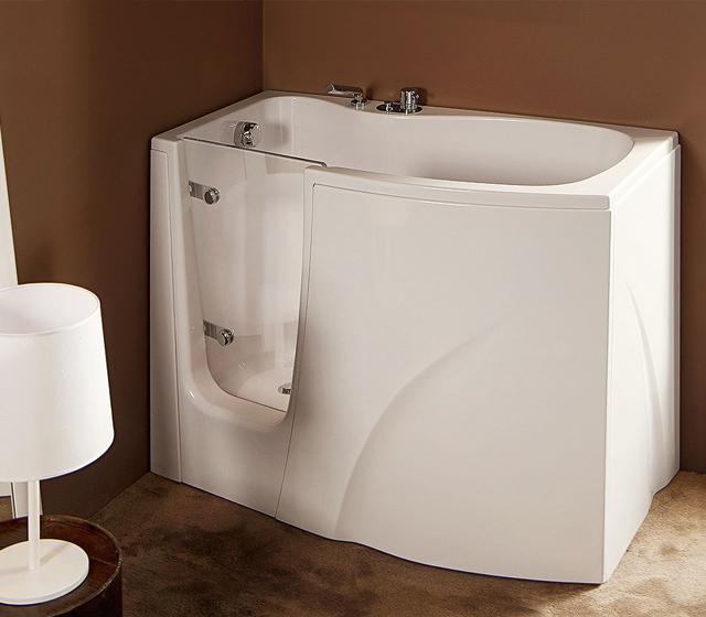 Vasca da bagno con sportello gen y - Togliere vasca da bagno ...