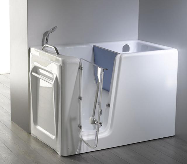 Vasca da bagno con sportello relax - Sportello vasca bagno ...