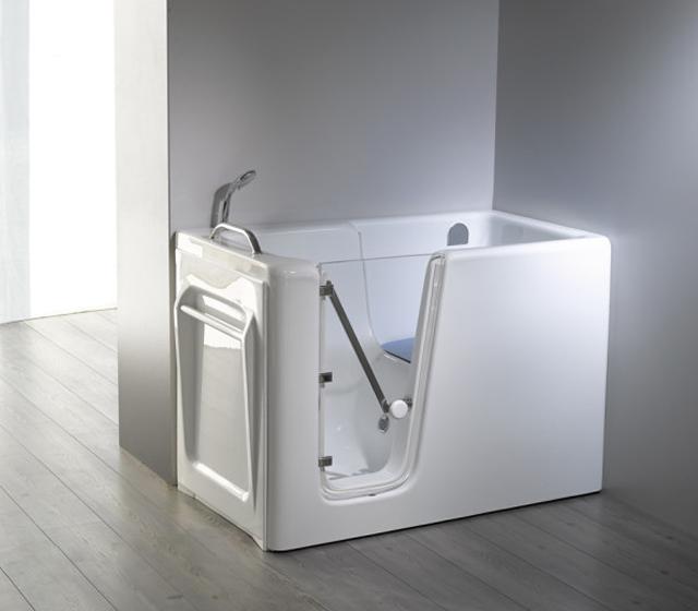 Vasca da bagno con sportello relax - Vasca da bagno con gambe ...