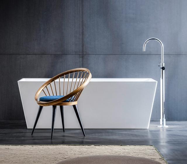Vasche da bagno piccole e compatte bagni d autore - Vasche da bagno asimmetriche 160x70 ...