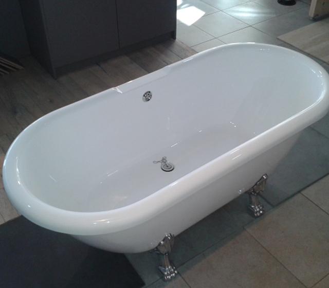 Vasca da bagno con piedini boston - Vasca da bagno piedini ...