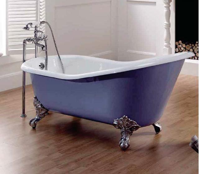 Vasca con piedini vasca con piedini with vasca con piedini vasca da bagno ellittica x cm piedi - Vasca da bagno con i piedi ...