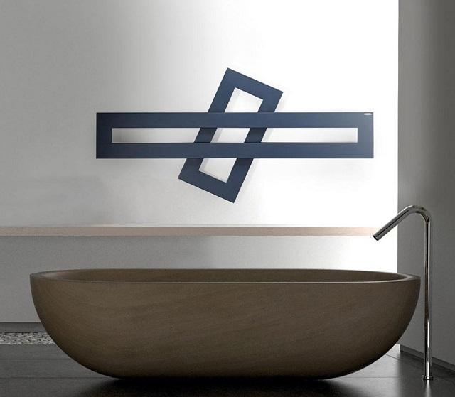 Termoarredi design e scaldasalviette d 39 arredo - Termoarredo orizzontale bagno ...