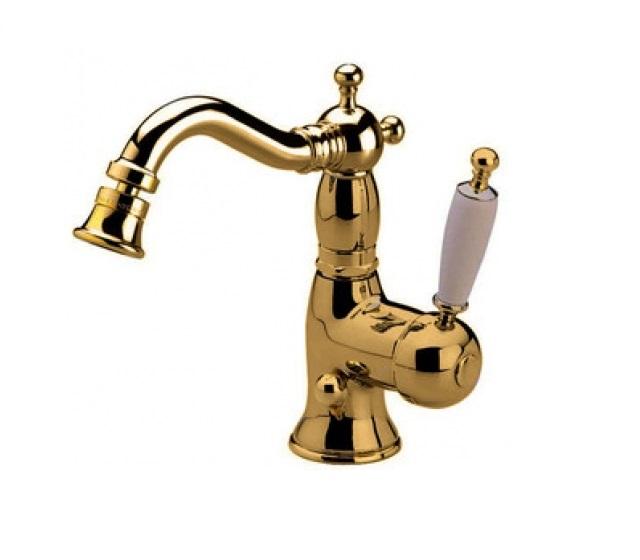 Miscelatore bidet oxford oro lucido - Rubinetteria retro bagno ...