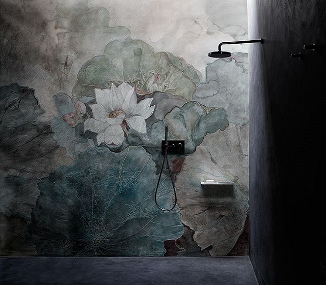 Carta da parati per bagno NIVEUM wall & Deco\'