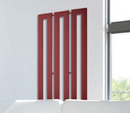 Termoarredo design originale Cross V brem rosso