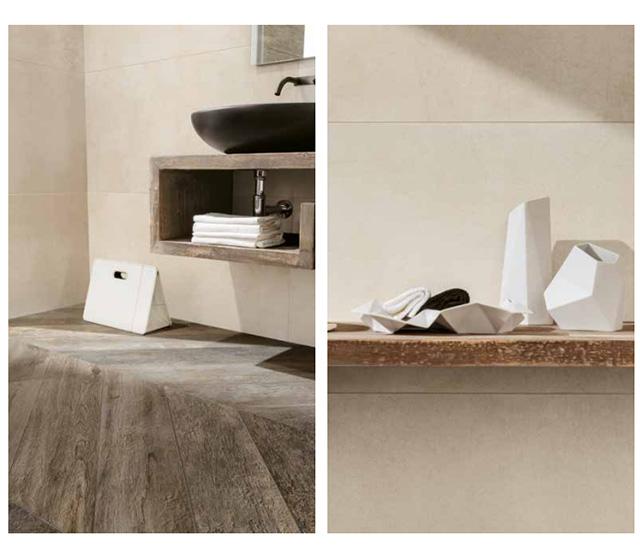 Mobile bagno Shabby Rovere 120 L120H30P50cm