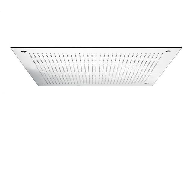 Soffione doccia ad incasso 410x410 mm - Soffione doccia soffitto ...