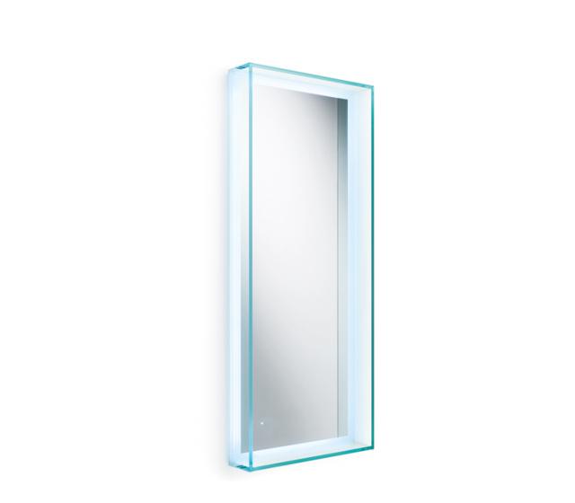 Specchio Con Cornice In Vetro