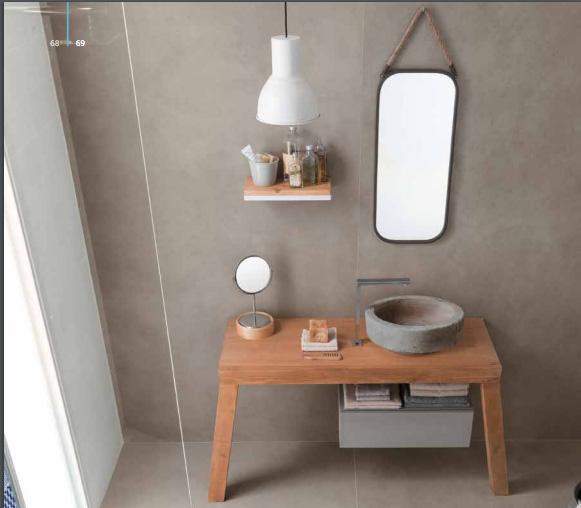 Arredo bagno naturale e shabby arredo bagno in legno - Arredo bagno legno naturale ...