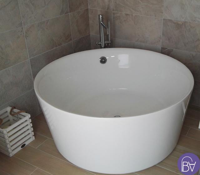 Vasca da bagno freestanding centro stanza catino for Vasca da bagno freestanding