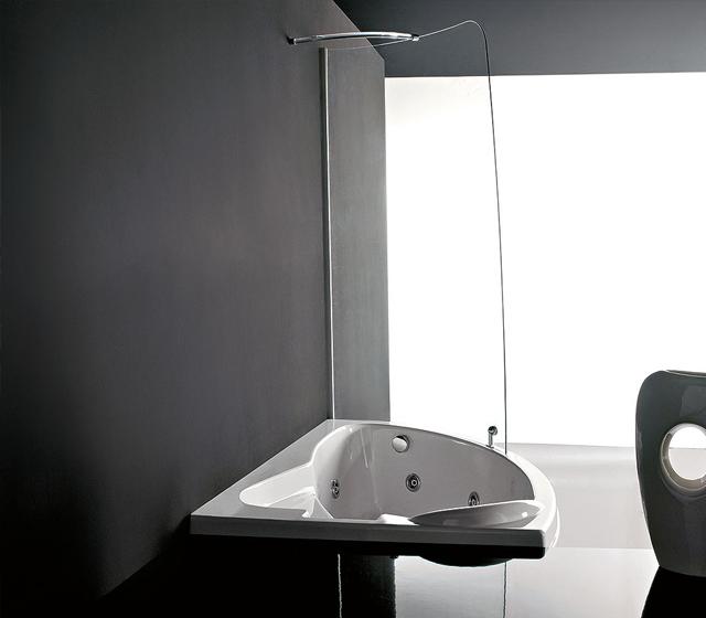 Vasca doccia combinate syria box easy 153x103 cm - Doccia vasca combinata ...